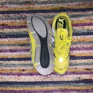 Men's Size 11 Yellow/Gray X-Racers New Balances'